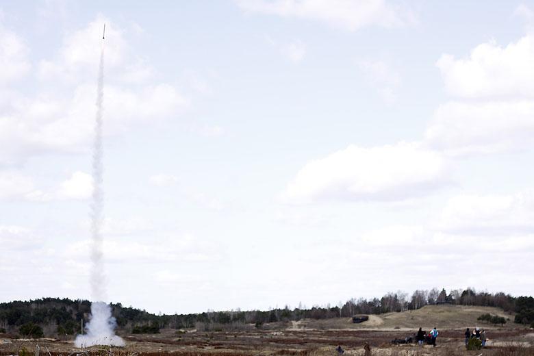 Start rakiety austriaków